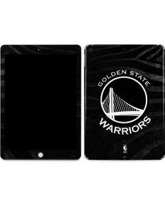Golden State Warriors Black Animal Print Apple iPad Skin
