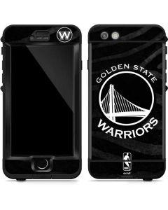 Golden State Warriors Black Animal Print LifeProof Nuud iPhone Skin