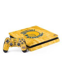 Golden State Warriors Hardwood Classics PS4 Slim Bundle Skin