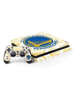 Golden State Warriors Historic Blast PS4 Slim Bundle Skin