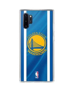 Golden State Warriors Jersey Galaxy Note 10 Plus Clear Case