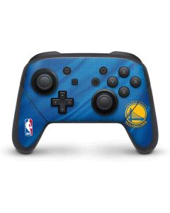Golden State Warriors Jersey Nintendo Switch Pro Controller Skin