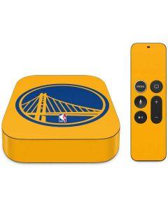 Golden State Warriors Large Logo Apple TV Skin