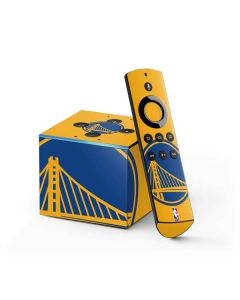 Golden State Warriors Large Logo Fire TV Cube Skin
