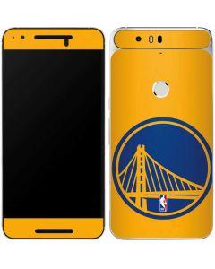 Golden State Warriors Large Logo Google Nexus 6P Skin