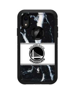Golden State Warriors Marble Otterbox Defender iPhone Skin