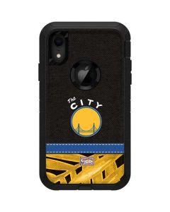 Golden State Warriors Retro Palms Otterbox Defender iPhone Skin
