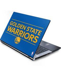 Golden State Warriors Standard - Blue Generic Laptop Skin
