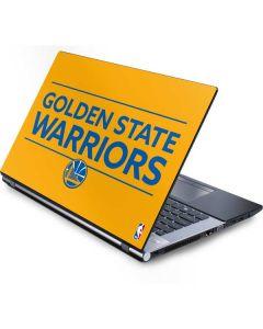 Golden State Warriors Standard - Yellow Generic Laptop Skin
