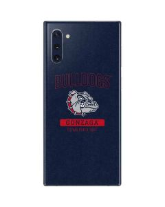 Gonzaga Bulldogs Established 1887 Galaxy Note 10 Skin