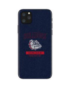 Gonzaga Bulldogs Established 1887 iPhone 11 Pro Max Skin
