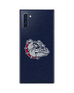 Gonzaga Bulldogs Mascot Galaxy Note 10 Skin