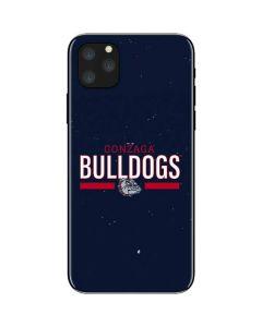 Gonzaga Bulldogs Stripe iPhone 11 Pro Max Skin