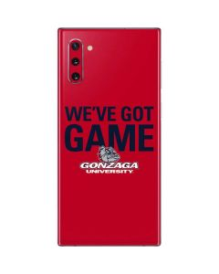 Gonzaga University Weve Got Game Galaxy Note 10 Skin