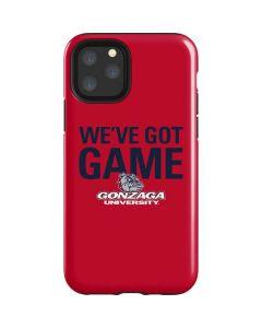 Gonzaga University Weve Got Game iPhone 11 Pro Impact Case