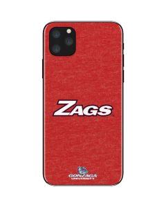 Gonzaga Zags iPhone 11 Pro Max Skin