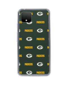 Green Bay Packers Blitz Series Google Pixel 4 Clear Case