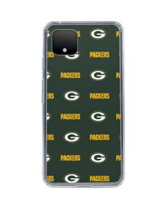 Green Bay Packers Blitz Series Google Pixel 4 XL Clear Case