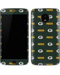 Green Bay Packers Blitz Series Moto E4 Plus Skin