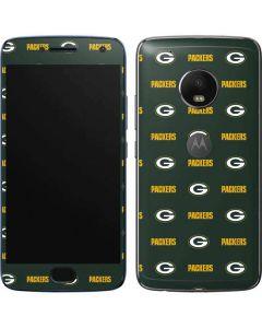Green Bay Packers Blitz Series Moto G5 Plus Skin