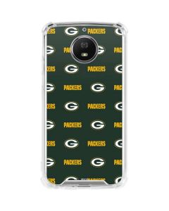 Green Bay Packers Blitz Series Moto G5S Plus Clear Case