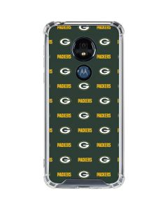 Green Bay Packers Blitz Series Moto G7 Power Clear Case