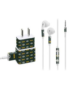 Green Bay Packers Blitz Series Phone Charger Skin