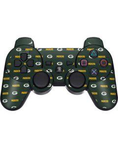 Green Bay Packers Blitz Series PS3 Dual Shock wireless controller Skin