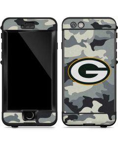 Green Bay Packers Camo LifeProof Nuud iPhone Skin