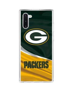 Green Bay Packers Galaxy Note 10 Clear Case