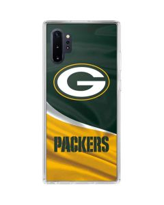 Green Bay Packers Galaxy Note 10 Plus Clear Case
