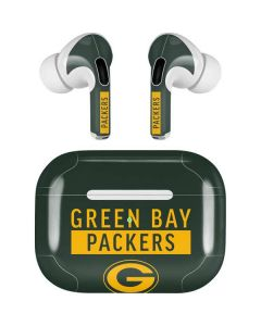 Green Bay Packers Green Performance Series Apple AirPods Pro Skin