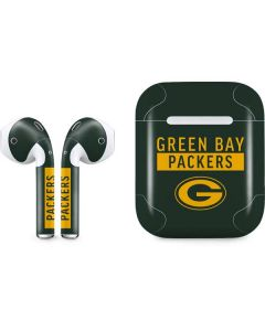 Green Bay Packers Green Performance Series Apple AirPods Skin