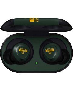 Green Bay Packers Green Performance Series Galaxy Buds Skin