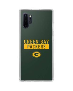 Green Bay Packers Green Performance Series Galaxy Note 10 Plus Clear Case