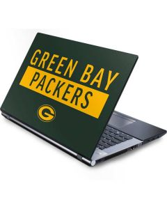Green Bay Packers Green Performance Series Generic Laptop Skin