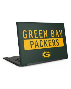Green Bay Packers Green Performance Series Dell Latitude Skin