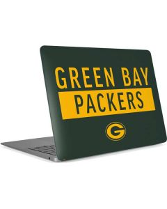 Green Bay Packers Green Performance Series Apple MacBook Air Skin