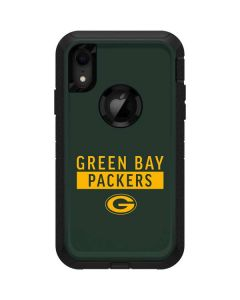Green Bay Packers Green Performance Series Otterbox Defender iPhone Skin