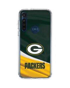 Green Bay Packers Moto G8 Power Clear Case