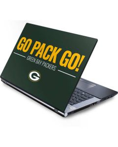Green Bay Packers Team Motto Generic Laptop Skin