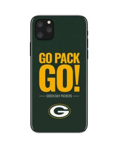 Green Bay Packers Team Motto iPhone 11 Pro Max Skin