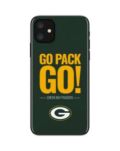 Green Bay Packers Team Motto iPhone 11 Skin