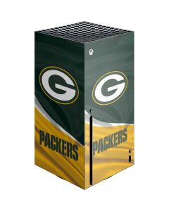 Green Bay Packers Xbox Series X Console Skin