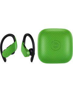 Green Carbon Fiber PowerBeats Pro Skin
