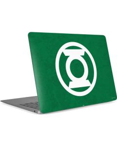 Green Lantern Logo Green Apple MacBook Air Skin