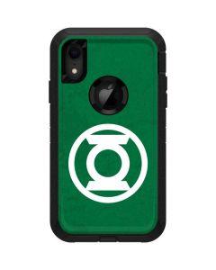 Green Lantern Logo Green Otterbox Defender iPhone Skin