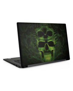 Green Skulls Dell Latitude Skin