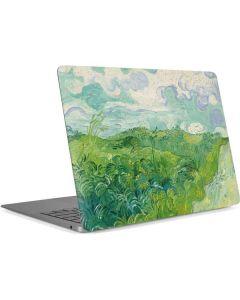 Green Wheat Fields by Vincent van Gogh Apple MacBook Air Skin