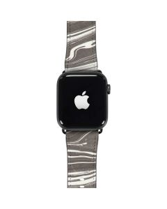 Grey Marble Apple Watch Band 42-44mm